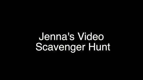 Thumbnail for entry My Video Scavenger Hunt