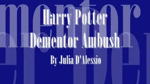 Thumbnail for entry Harry Potter Dementor Ambush