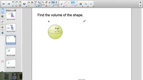 Thumbnail for entry Calculating the Volume of Spheres, Prisms, and Pyramids
