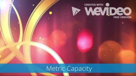 Thumbnail for entry Metric Capacity