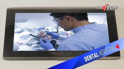 Thumbnail for entry Tri Tech Dental Assisting