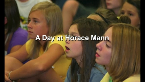 Thumbnail for entry A Day at Horace Mann Middle School
