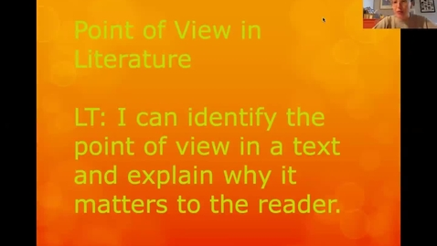 Thumbnail for entry Point of View Lesson