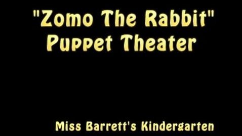 Thumbnail for entry Zomo the Rabbit Kindergarten Puppet Theater 2013 (Revised/Full Version)