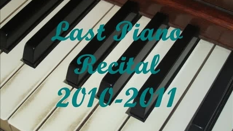 Thumbnail for entry WSOA news: HS Piano Recital