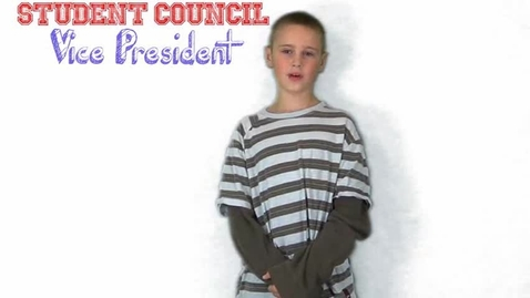 Thumbnail for entry Michael's Student Council Speech