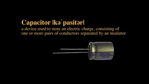 Thumbnail for entry Capacitor Construction