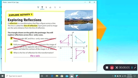 Thumbnail for entry Lesson 9-2 Video Lesson #1 for Monday 3/30/2020