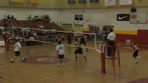 Thumbnail for entry GHCHS Boys Volleyball vs Taft HS 4-17-12