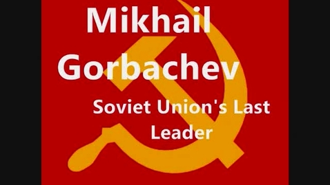 Thumbnail for entry Mikhail Gorbachev