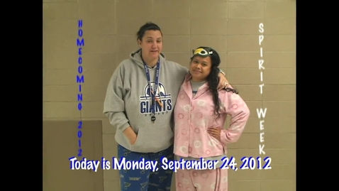 Thumbnail for entry Monday, September 24, 2012