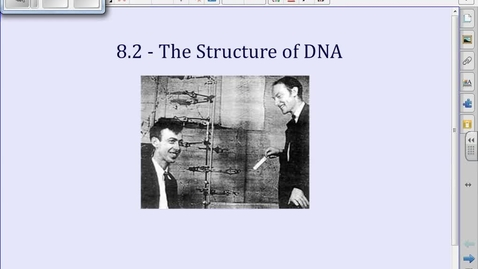 Thumbnail for entry 8.2 Structure of DNA