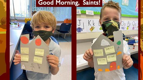 Thumbnail for entry  Saints @ 8 - November 3, 2020