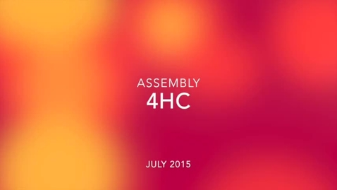 Thumbnail for entry 4HC Class Assembly July 2015