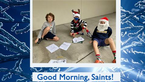 Thumbnail for entry Saints @ 8 - January 11, 2021