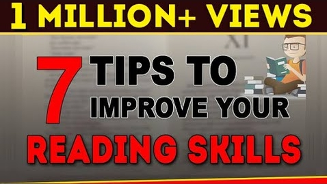 Thumbnail for entry How to Improve Reading Skills | 7 Speed Reading Techniques | Exam Tips | LetsTute
