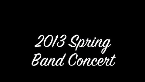 Thumbnail for entry Sun Valley Spring Band Concert