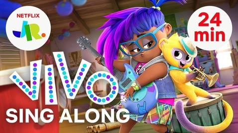 Thumbnail for entry ALL Vivo Sing Along Songs & Music Videos 🎶🐵 Netflix Jr