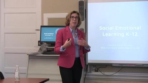 Thumbnail for entry Social Emotional Learning K-12 Presentation