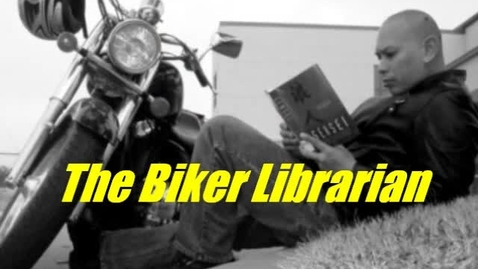 Thumbnail for entry Biker Librarian: Cabinet of Wonders