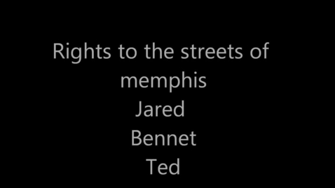 Thumbnail for entry The Right to the Streets of Memphis