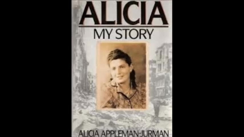Thumbnail for entry Alicia: My Story by Alicia Appleman-Jurman