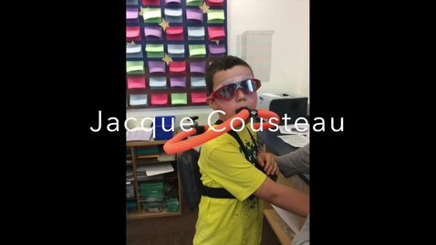 Thumbnail for entry Wax Museum - Jacque Cousteau