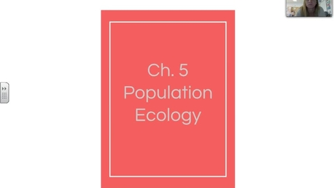 Thumbnail for entry Ch. 5 Population Ecology