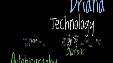 Thumbnail for entry Briana's Technology Autobiography