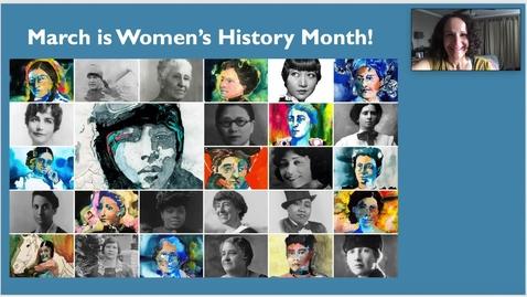 Thumbnail for entry 3_30 Mystery Reader - Women's History - Mrs. Killo
