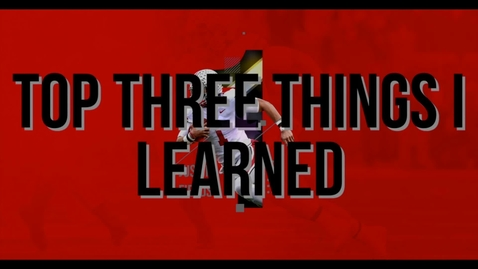 Thumbnail for entry 3 things i learned