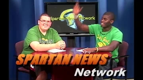 Thumbnail for entry Spartan News Network October 2011