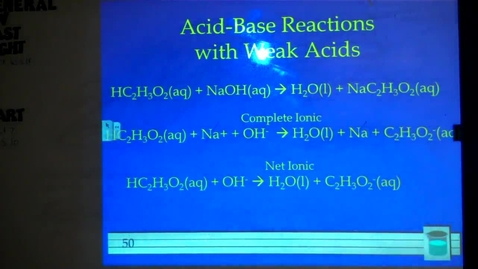 Thumbnail for entry Chapter 4: Acid Base Reactions Pt. 2