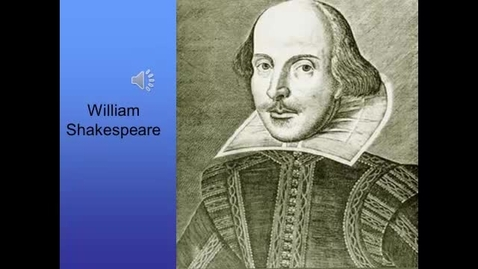 Thumbnail for entry Brit Lit/Comp William Shakespeare Presentation