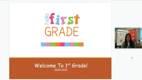 Thumbnail for entry DiMercurio 1st Grade Curriculum Night PPT