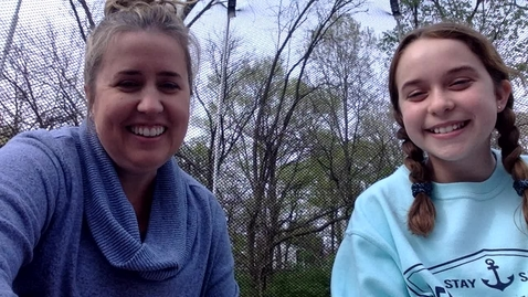 Thumbnail for entry Story time with Ms. Genna & Sophi - Wed 4/15 - Froggy Goes to Camp