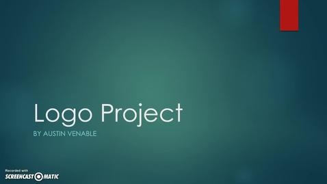 Thumbnail for entry Multimedia Logo Project - Austin Venable