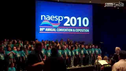 Thumbnail for entry Pasadena ISD - NAESP - Music In My Soul