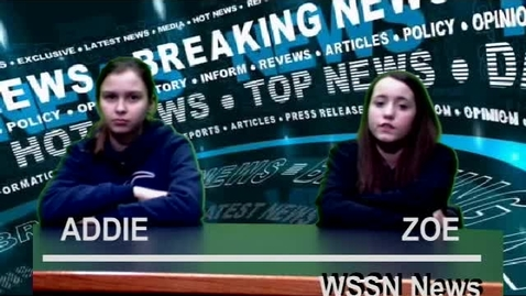 Thumbnail for entry WSSN News Friday March 6, 2020