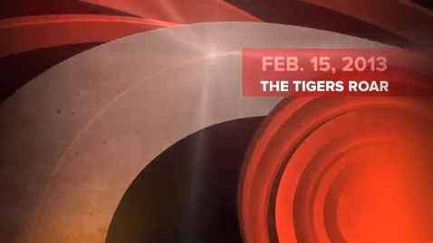 Thumbnail for entry NBHS The Tiger's Roar Broadcast 1 - Feb. 15, 2013