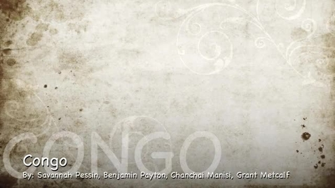 Thumbnail for entry Congo 2013 PSA 2 Group 102