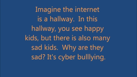 Thumbnail for entry Cyber Bullying