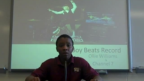 Thumbnail for entry Boy Beats Record