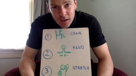 Thumbnail for entry Calming Chair Exercises
