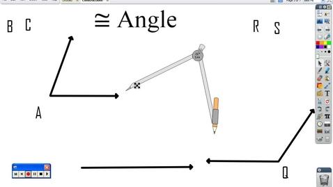 Thumbnail for entry Constructing congruent angles