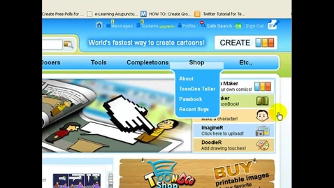 Thumbnail for entry How to embed your ToonDoo book
