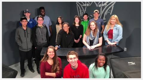 Thumbnail for entry Broadcast Technology spring class of 2019