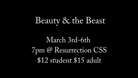 Thumbnail for entry Beauty and the Beast -flash intro