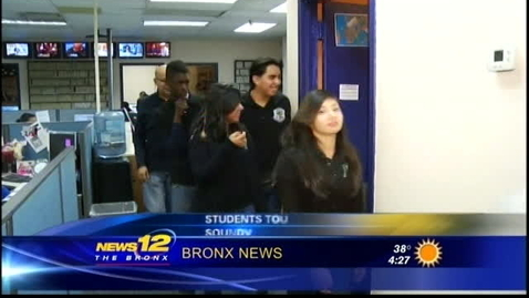 Thumbnail for entry Truman Media visits News 12 Jan. 30