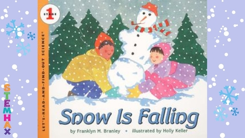 Thumbnail for entry Snow Is Falling - A Read With Me Book